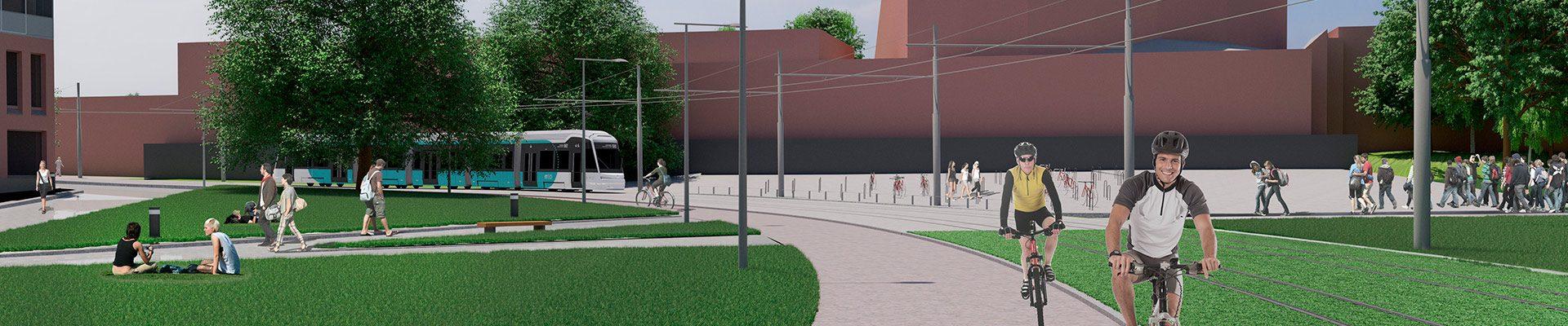 Raide-Jokerin rakentaminen alkaa kesäkuun 2019 alussa. Tämänhetkisen aikataulun mukaan liikennöinti linjalla alkaa kesäkuussa 2024.