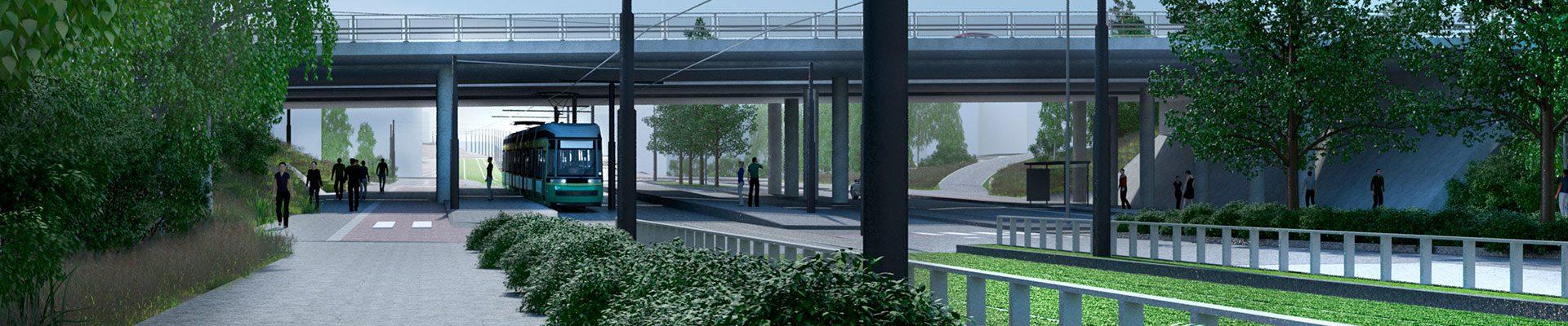 Raide-Jokeri on Helsingin Itäkeskuksen ja Espoon Keilaniemen välille rakennettava pikaraitiolinja.